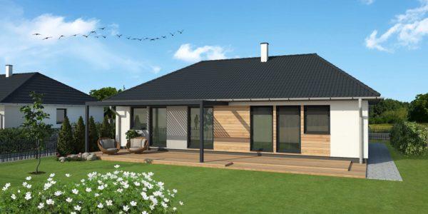 Montovaný bungalov Largo121 s garážou