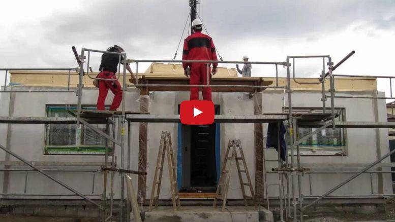 Montovaný bungalov Largo 98 – časozber – video od klienta