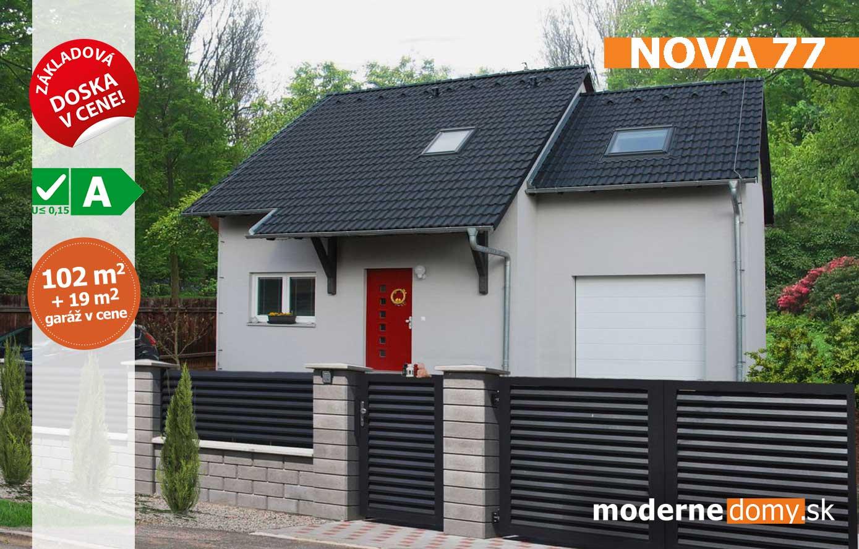 Nova 77 – montovaný dom v Bratislave