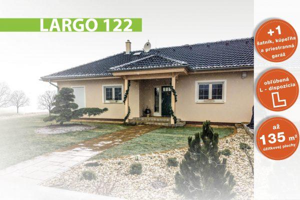 Montovaný drevodom Largo 122