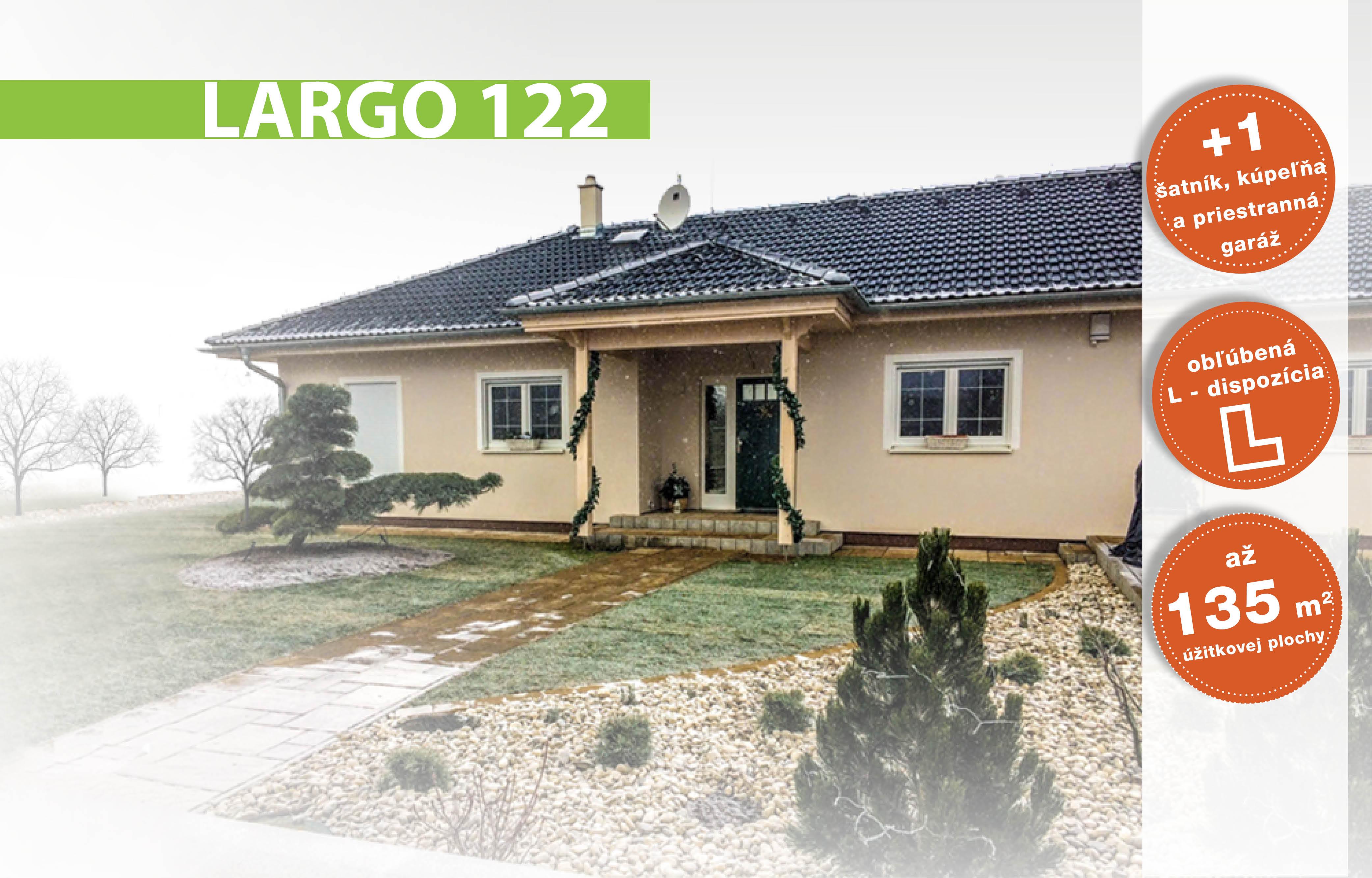 Largo 122 bungalov na mieru