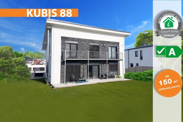 Montovaný drevodom Kubis 88