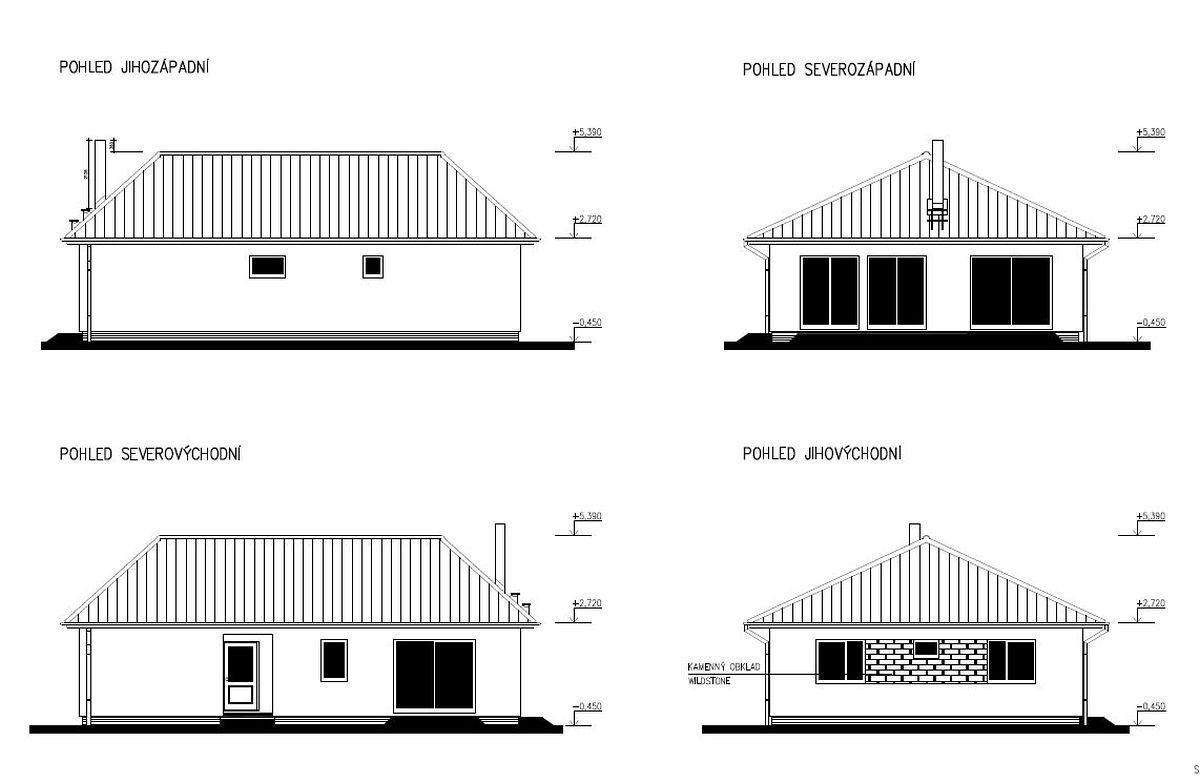 Staviame nový bungalov Largo 98 – zima nás nezastaví!