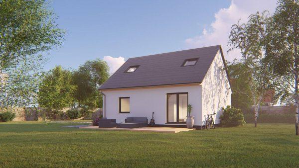 Montovaný dom - drevodom Solo 65